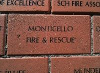 Monticello Fire Department Brick