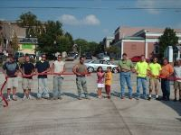 Public Works Crew at a Ribbon Cutting