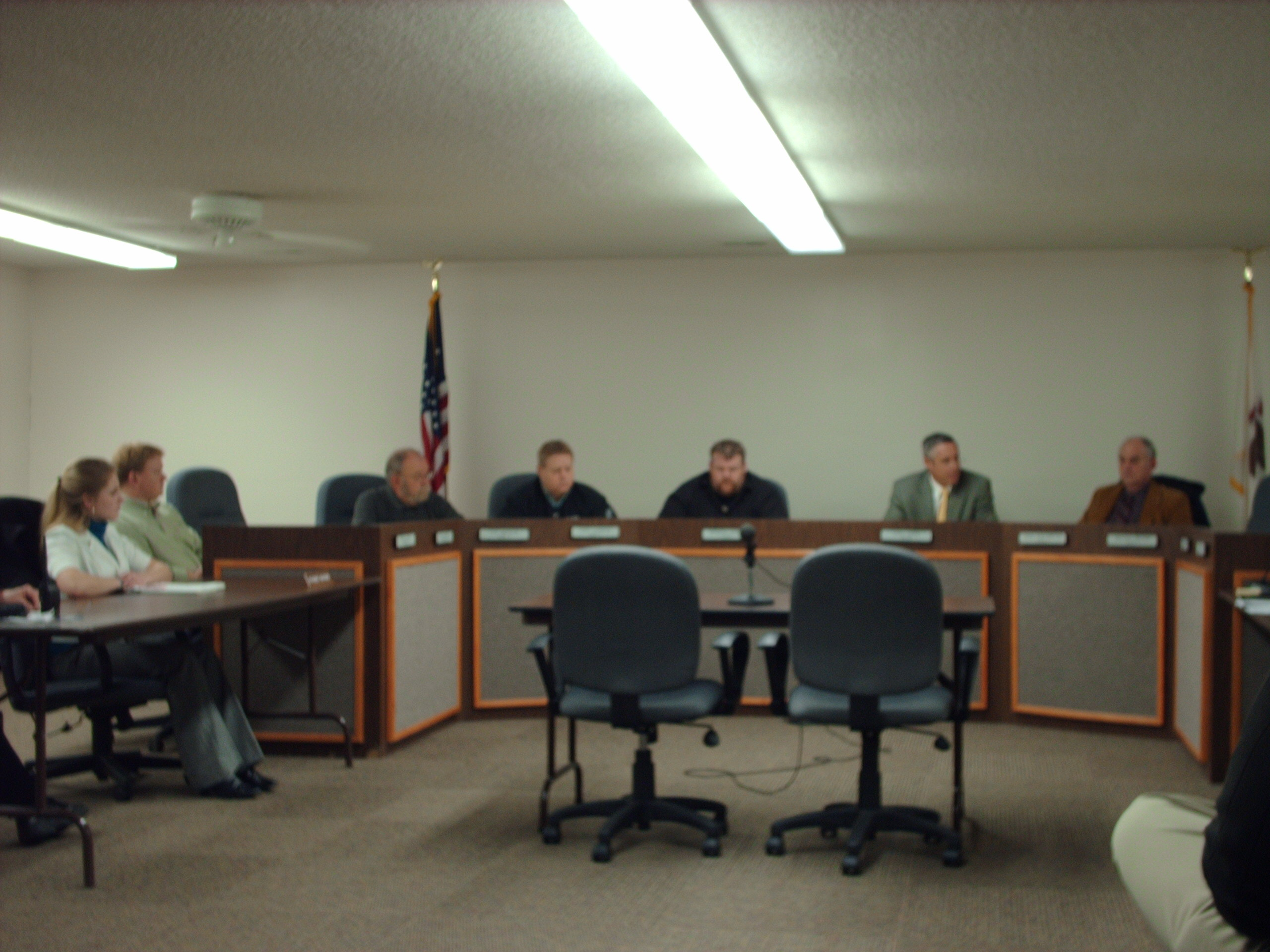Image of the Monticello City Council