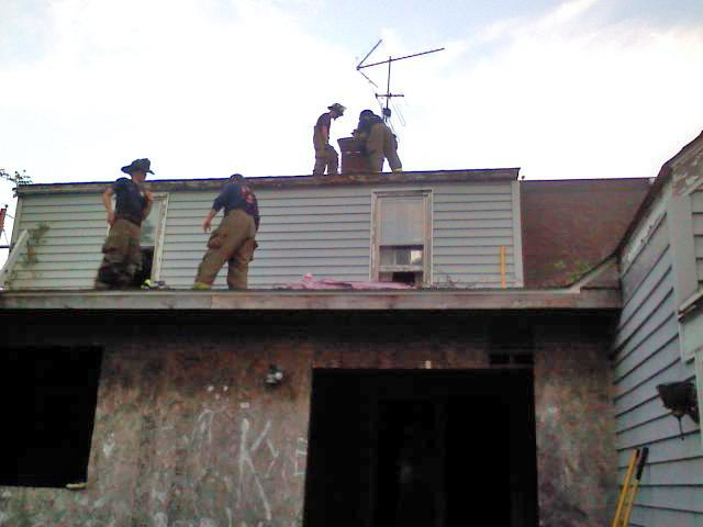 Fire department house training